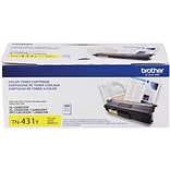 Brother Toner Cartridge, Yellow (TN431Y)
