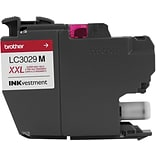 Brother Ink Cartridge, Magenta XXL Super High Yield INKvestment (LC3029M)