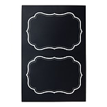Martha Stewart Chalkboard Labels, 4 x 6, 4-pack (51126)