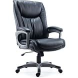 Quill Brand® Westcliffe Bonded Leather Managers Chair, Black