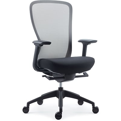 Quill Brand® Ayalon Mesh and Fabric Task Chair, Black