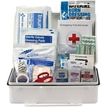 First Aid Only® 25 Person Bulk Plastic ANSI A First Aid Kit (90562)