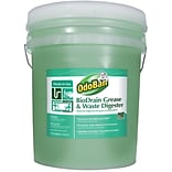 OdoBan BioDrain Grease and Waste Digester, Floral Scent, 5 Gallon Pail