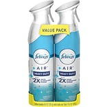 Febreze AIR Freshener Heavy Duty Crisp Clean, 17.6 Oz., 2 Pack