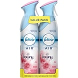 Febreze AIR Freshener with Downy April Fresh Scent, 17.6 Oz., 2 Pack