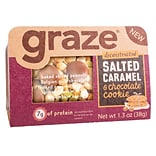 Graze® Deconstructed Salted Caramel & Chocolate Cookie, 1.3 Oz., 9/Pk