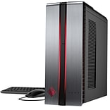HP OMEN 870-222 Gaming Desktop (7th Gen Intel i5, 1TB HDD+256GB SSD, 8GB DDR4, Win 10, NVIDIA® GeFor