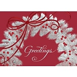 Magical Greetings Holiday Card with Gummed Envelope