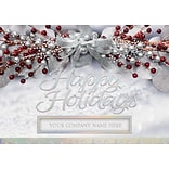 Sheer Elegance Holiday Card with Self-Seal Envelope