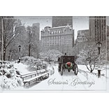 Moment In Time Holiday Card with Gummed Envelope