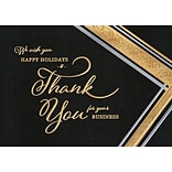 Fantastic Statement Holiday Card with Self-Seal Envelope