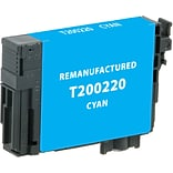 CIG Remanufactured Inkjet Cartridge, Epson T200 (T200220), Cyan