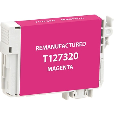 CIG Remanufactured Inkjet Cartridge, Epson T127 (T127320), Magenta, Extra High Capacity
