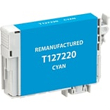 CIG Remanufactured Inkjet Cartridge, Epson T127 (T127220), Cyan, Extra High Capacity