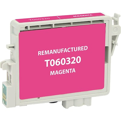 Clover Imaging Group Remanufactured Magenta Standard Yield Ink Cartridge Replacement for Epson T0603 (60)