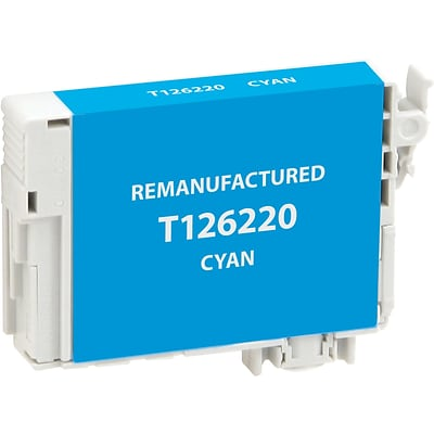 CIG Remanufactured Inkjet Cartridge, Epson T126 (T126220), Cyan, High Capacity