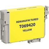 CIG Remanufactured Inkjet Cartridge, Epson 69 (T069420), Yellow