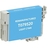 CIG Remanufactured Inkjet Cartridge, Epson 79 (T079520), Light Cyan, High Capacity