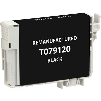 Clover Imaging Group Remanufactured Black High Yield Ink Cartridge Replacement for Epson T0791 (79)