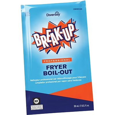 Break-Up® Professional Fryer Boil-Out, 2 Oz. Packets, 36/CT