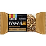 KIND Breakfast Protein Bars Almond Butter, 8/Box