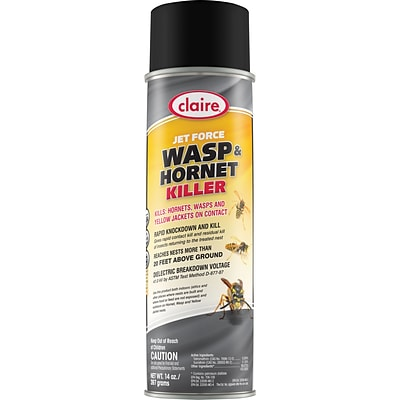 Claire® Jet Force Wasp & Hornet Killer, 14 Oz.