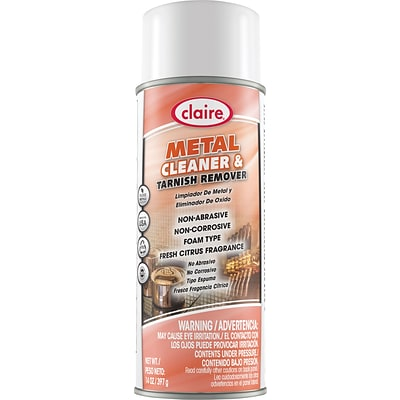 Claire® Metal Cleaner & Tarnish Remover, 14 Oz.