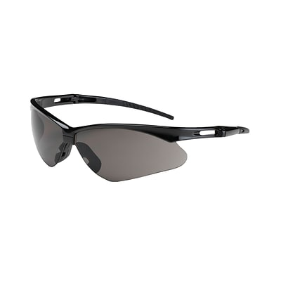 Bouton® Glasses, Anser Black Frame, Gray Lens and Anti-Scratch Coating