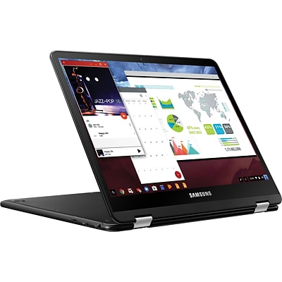 Samsung XE510C24-K01US Chromebook Pro 12.3 2in1 Computer (Intel Core M3, 32GB eMMC, 4GB LPDDR3, Int