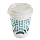 Staples Brand Hot Cup Lids for 10, 12, 16 Oz. Paper Hot Cups, 50/Pack