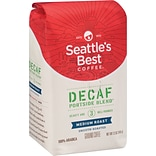 Seattles Best Coffee® Portside Blend Ground Coffee, Decaffeinated, 12 oz. Bag