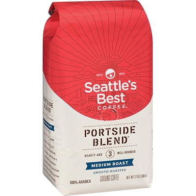 Seattles Best Coffee® Portside Ground Coffee, Regular, 12 oz. Bag