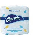 Charmin® for Commercial Use Individually Wrapped Toilet Paper, 2-Ply, 450 Sheets/Roll, 75 Rolls/Cart