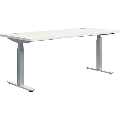 HON® Coordinate Height Adjustable Base with 30x72 Table Top