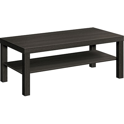 HON BL Series Coffee Table, Flat Edge, 42W x 20D, Espresso Finish NEXT2018 NEXTExpress
