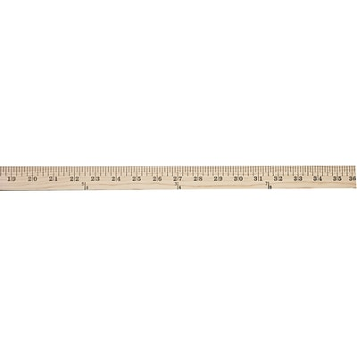 Staples Wood Yardstick 36 (51893)