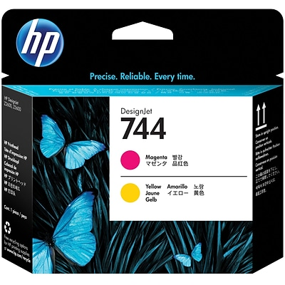 HP 744 Magenta & Yellow DesignJet Printhead