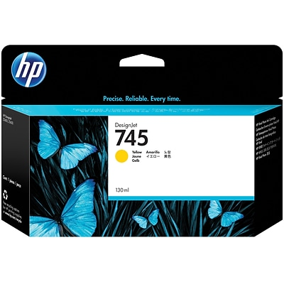 HP 745 130 ml Yellow DesignJet Ink Cartridge