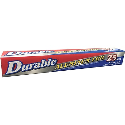 Durable Packaging Foil Rolls, 12 x 25, 24 Pack