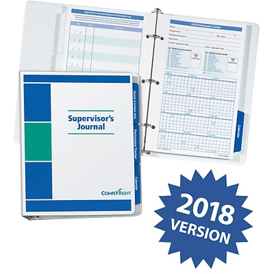 ComplyRight™ 2018 Supervisors Journal