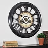 FirsTime® 24 Oversized Gear Works Wall Clock