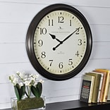 First Time® 20 Oversized Avery Whisper Wall Clock