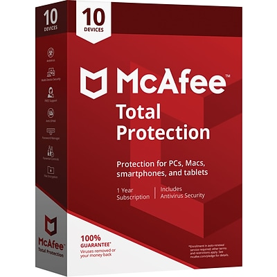 McAfee® Total Protection - 10 Devices [Boxed]