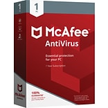 McAfee® AntiVirus - 1 PC [Boxed]