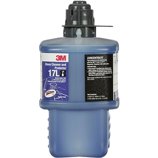 3M™ Glass Cleaner and Protector Concentrate 17L, Gray Cap, 2L, 6/Case (17L)
