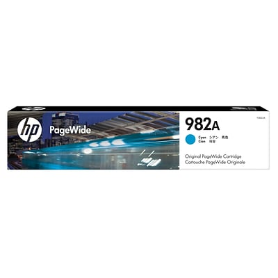HP 982A Cyan Original PageWide Cartridge