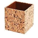Staples® Pencil Cup, Cork Paperboard