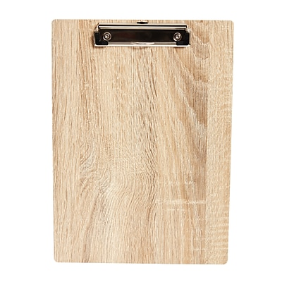 Staples Wood Letter-Sized Clipboard (51958)
