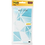Post It Listnote Geometric, Teal