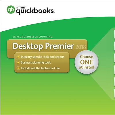 QuickBooks Desktop Premier 2018 1-User for Windows (1 User) [Download]